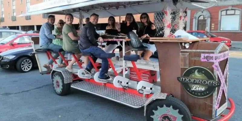 Pedal Power Pub Crawl - Irish Rugby Tours, Rugby Tours To Galway