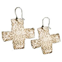 Celtic Earrings - Handcrafted Sterling Silver Celtic Cross ...