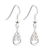 Trinity Knot Earrings - Sterling Silver Trinity Knot at ...