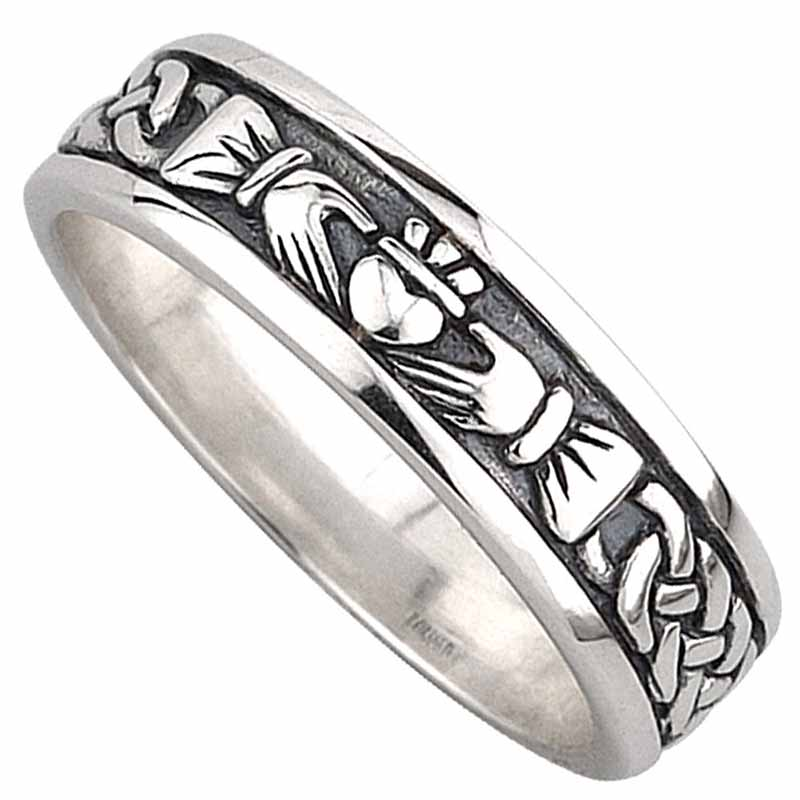 Claddagh Ring Ladies Sterling Silver Celtic Claddagh