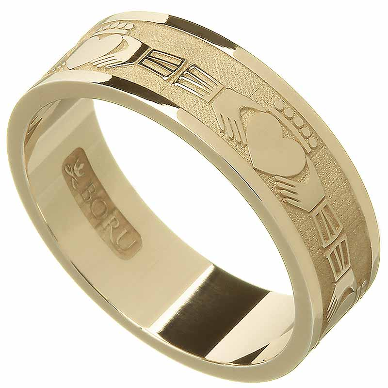 Claddagh Ring  Mens Claddagh Wedding Ring at IrishShop