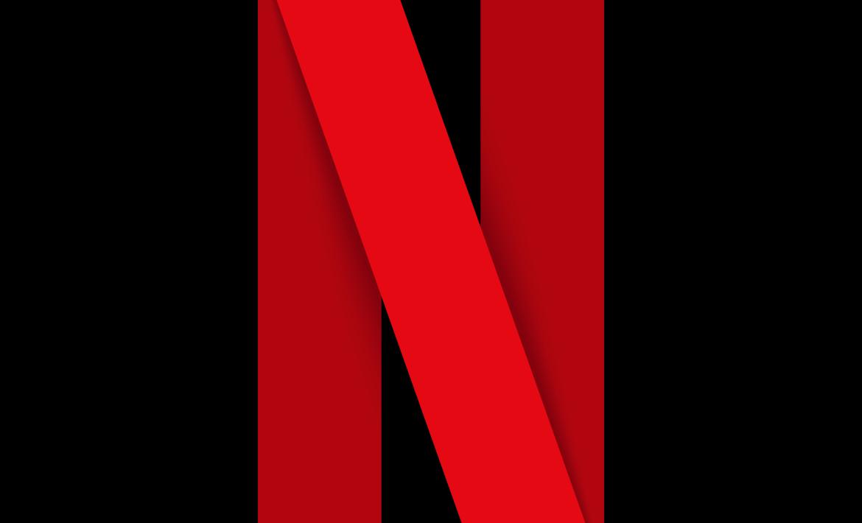 Netflix logo.