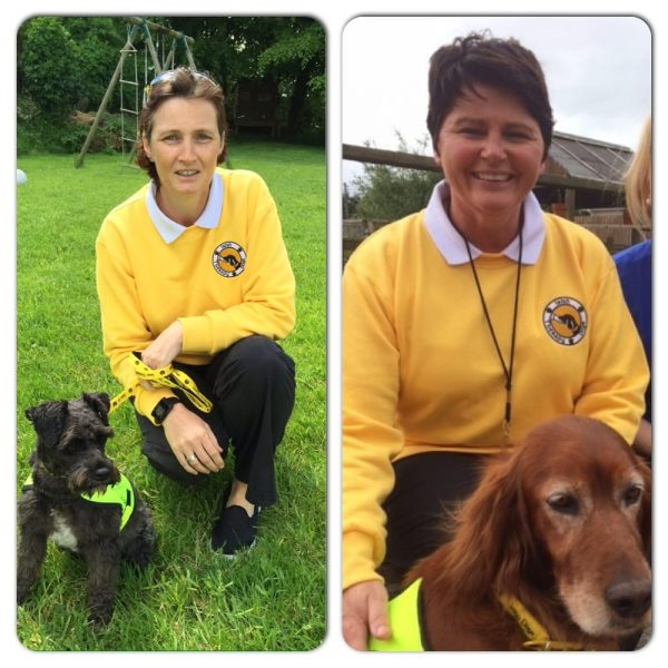 Rufina ans Missy, Anne and Caoimhe