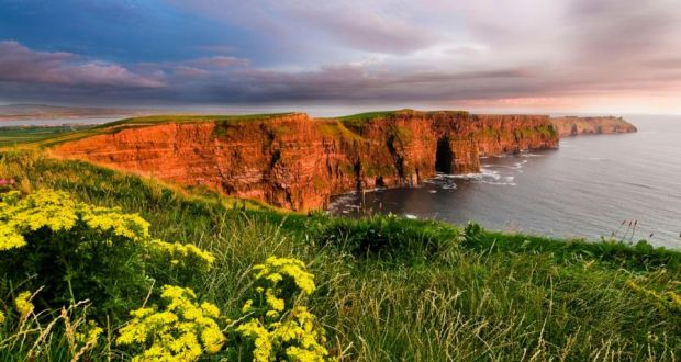 Sustainable: the underground visitor centre at the Cliffs of Moher helps the site cope with hundreds of thousands of tourists a year. Photograph: Nutan/Tourism Ireland