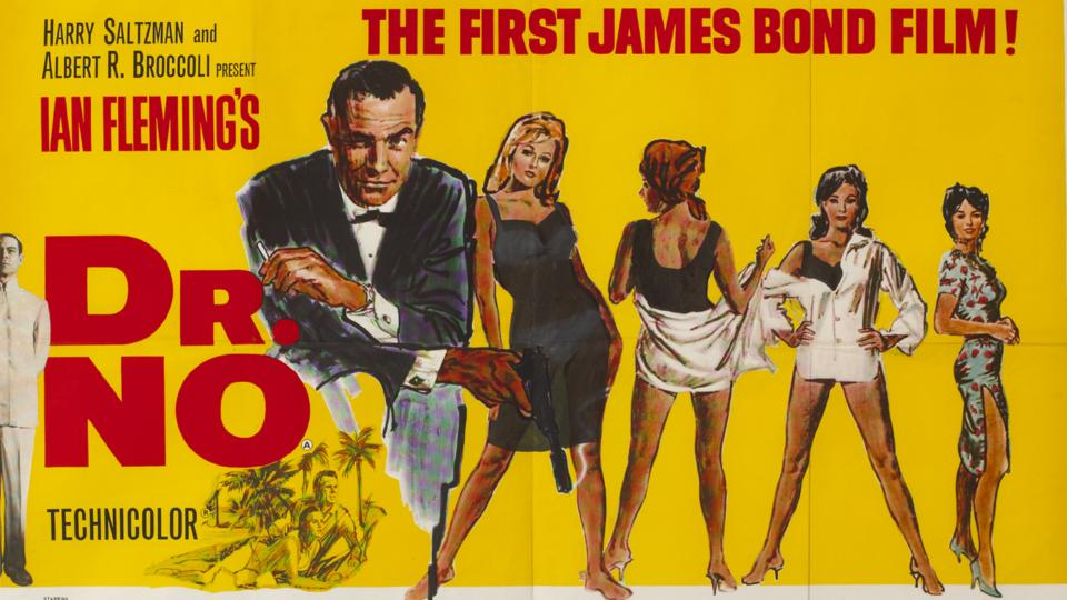 irish eyes in movie poster for dr no