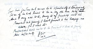 Man consents to orders over sale of Jackie Kennedy letters
