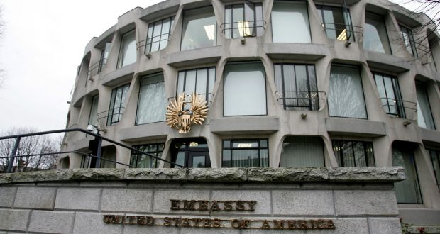 Image result for american embassy dublin