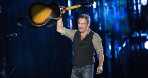 Nobody writes songs about the poor ignored white bloke, do they? All right, Bruce Springsteen did write one or two . . .  Photograph:  Brendan Smialowski/AFP/Getty
