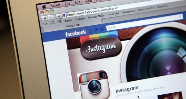 Facebook's photo-sharing service, Instagram, said it had more than 300 million users, surpassing Twitter's 284 million users. Photo: Getty Images