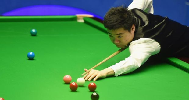 WORLD SNOOKER 2016 CHAMPIONSHIP: DING REACHES SECOND ROUND