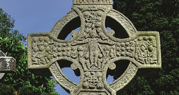 Monumental cross of Muiredach, Monasterboice, Co Louth. Photograph: John Donnellan