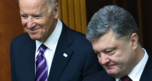 joe biden phone call to poroshenko