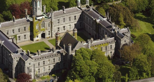 The quadrangle at NUI Galway: Gender equality taskforce set up in 2015 after Dr Micheline Sheehy Skeffington  won a landmark Equality Tribunal case against the university