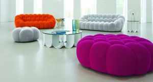 bubble sofa sacha lakic jonathan louis sectional the man behind design giant roche bobois