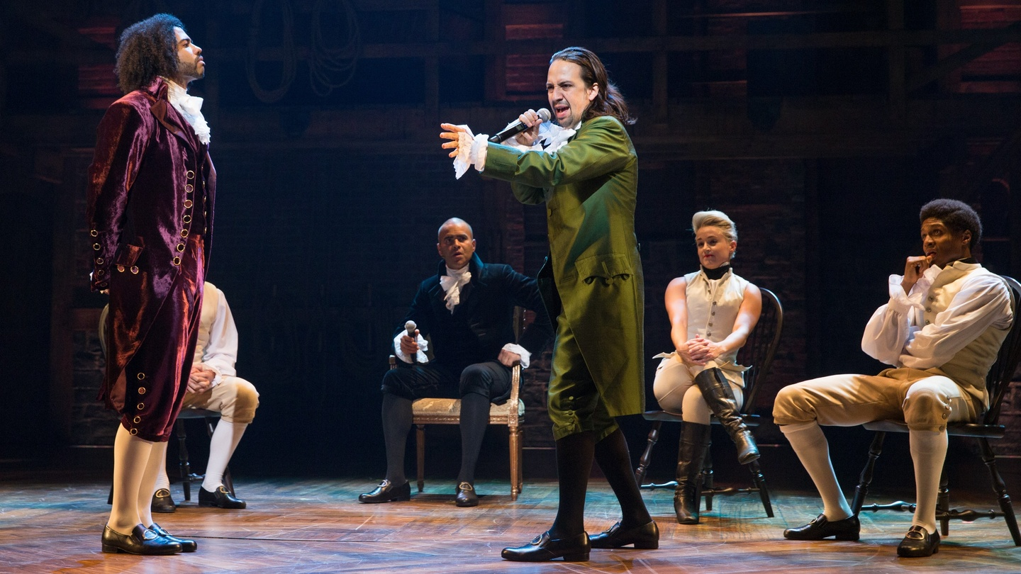Hamilton Not Your Usual Hip Hop Musical About An American