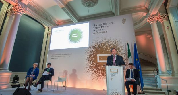 Image result for Government's 'Creative Ireland' plan is outlined by Taoiseach