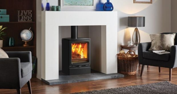 Fireline Stove Installation Of Fireplace And Wood Burning Timelapse You