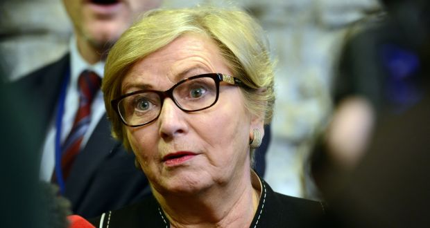 Frances Fitzgerald: 'Irish society faces considerable risks if integration is not supported by Government, by communities and individuals.' Photograph: Cyril Byrne