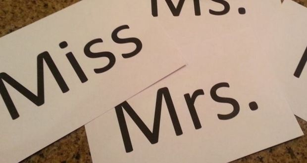 mrs miss or ms
