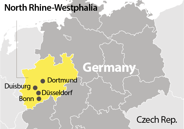 North Rhine-Westphalia: the state that takes the pulse of Germany
