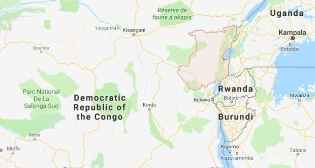 A further 53 UN peacekeepers were injured in the attack in North Kivu province. Image: Google Maps
