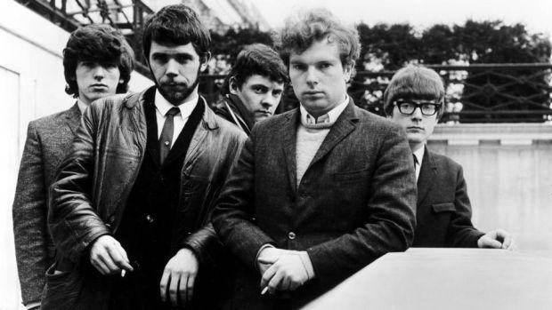 Rapture, not radicalism: Van Morrison with Them. Photograph: RB/Redferns