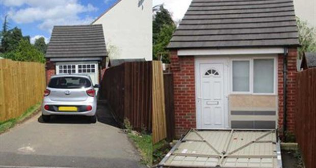 Uk Couple S Ploy To Disguise Garage Conversion Backfires
