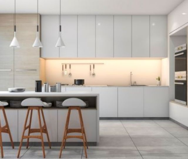 Tackling The Kitchen Area And Back Of The House Is Where Much Of A Renovation Budget Can Get Absorbed When Renovating Second Hand Homes Photograph Istock