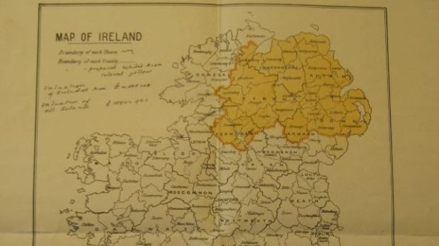 Map Of Ireland With County Borders.Borders And Boundaries Slugger O Toole