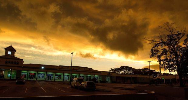 storm dorian churns toward