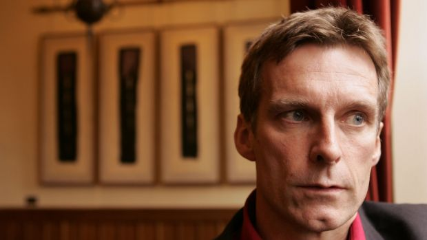 Ronan Bennett, author of the book Havoc, in its Third Year, in 2004. Photograph: Dara MacDonaill