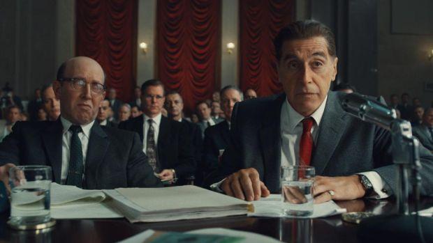 The Irishman: Al Pacino in Martin Scorsese's new film. Photograph: Netflix