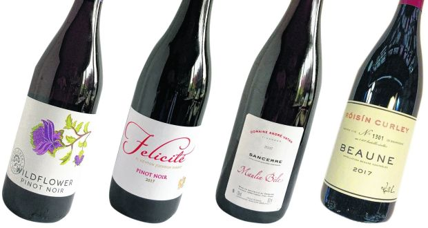 Magazine wine November 2019. Pinot Noir: Wildflower, Felicité, Sancerre Maulin Béle and Beaune