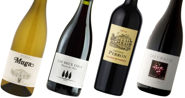 Christmas dinner wines: Muga Rioja Blanco; Les Deux Cols; Château Perron; and Greywacke Pinot Noir