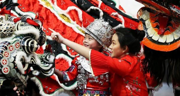 Dragon parades will take place for Dublin's Chinese New Year festival. Photograph: Sasko Lazarov/Phtocall Ireland