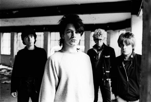 Early years: U2 in the Netherlands in October 1980. Photograph: Lex van Rossen/MAI/Redferns via Getty
