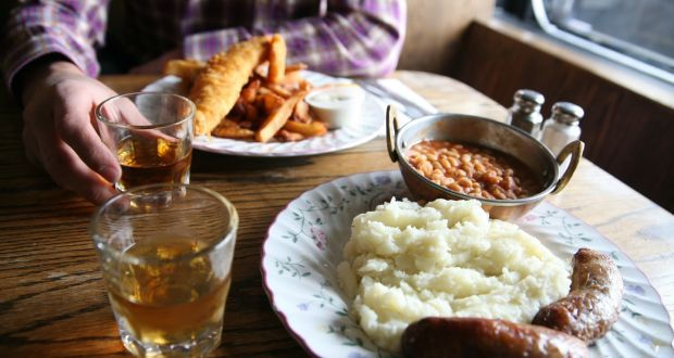 A spokeswoman for the tourism body said pubs and bars would be required to serve a 'substantial meal' to customers. Photograph: iStock