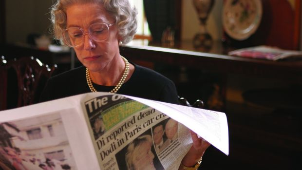 'We needed someone who made you nervous' ... Mirren in The Queen, the 2006 film by Stephen Frears.