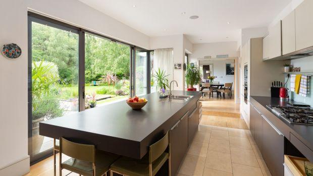 Kitchen at Birchfield, Westminster Road, Foxrock, Dublin 18