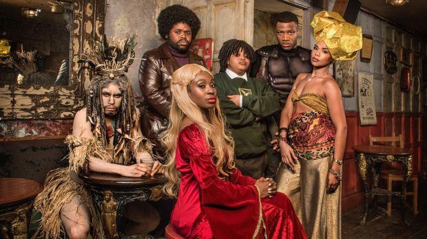 The cast of Famalam