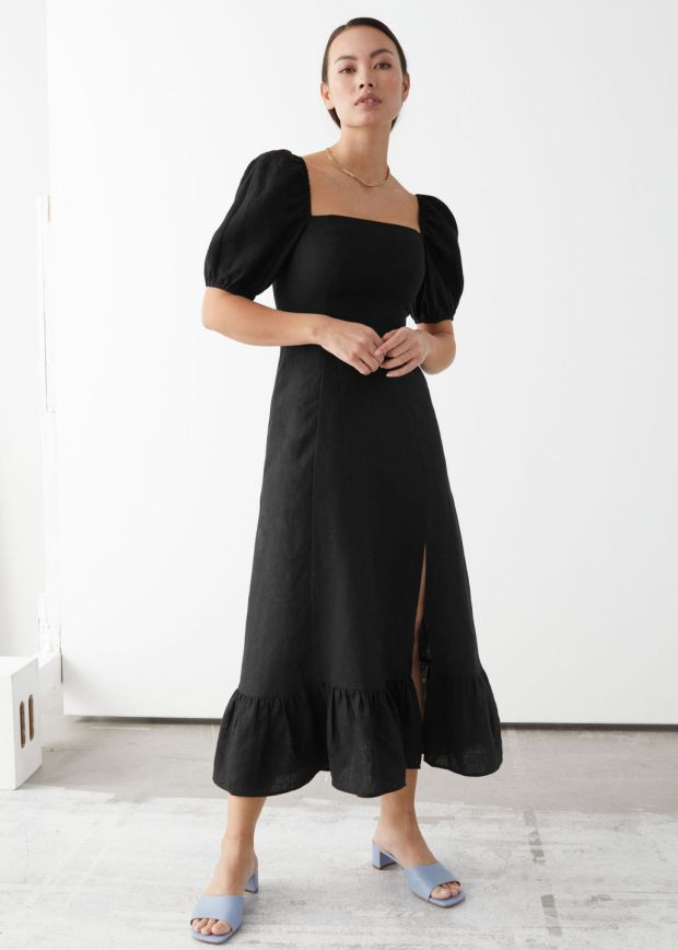 Linen dress, €69, + Other Stories