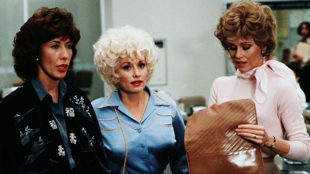 Lily Tomlin, Dolly Parton, Jane Fonda in 9 to 5, directed by Colin Higgins.