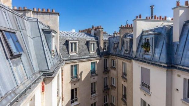 Rooftop apartment in Paris 17
