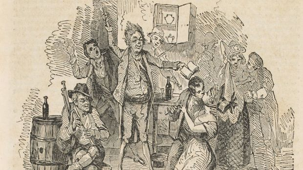 The couple beggar was a clergyman who had been dismissed from his clerical position for a variety of offences – often involving women and alcohol.