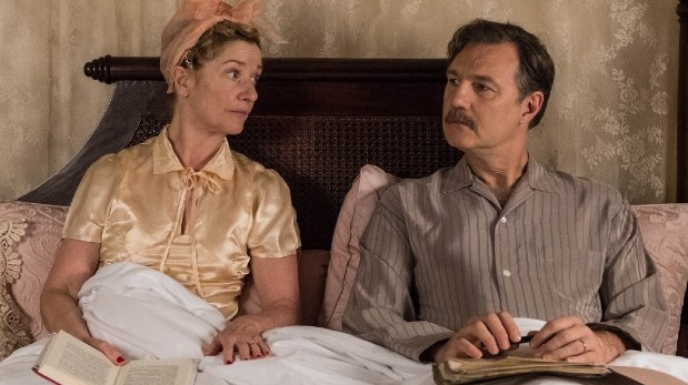 Jane Horrocks and David Morrissey in The Singapore Grip