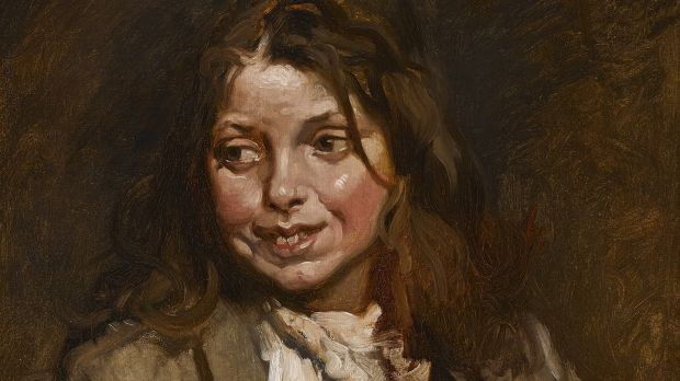 The Beggar Girl by Sir William Orpen (Lot 23 €40,000–€60,000)