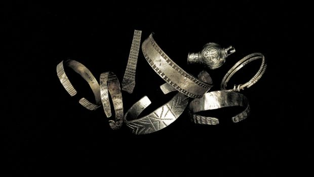 Hiberno-Viking silver, late 9th - early 10th century AD. Photograph: National Museum of Ireland