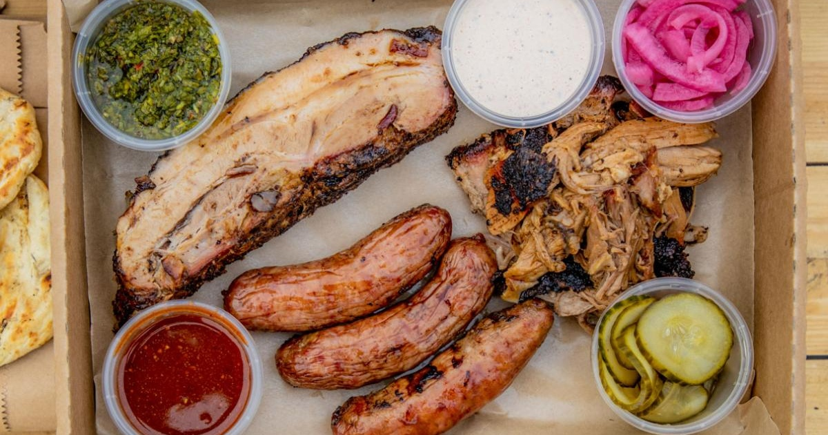 The Whole Hog takeaway from barbecue specialist, Baste.