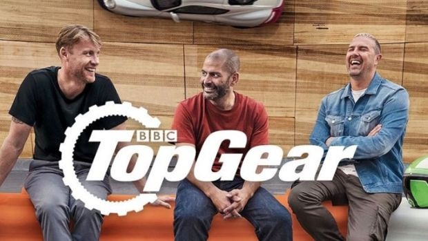 Advertising art for Top Gear's move to BBC1