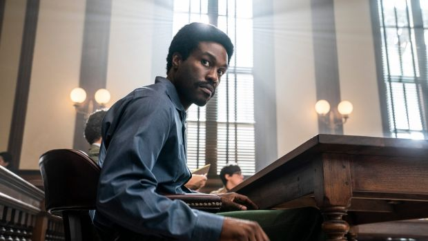 Yahya Abdul-Mateen II as Bobby Seale in The Trial of the Chicago 7